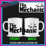 THE MECHANIC LOVES CARS MUG